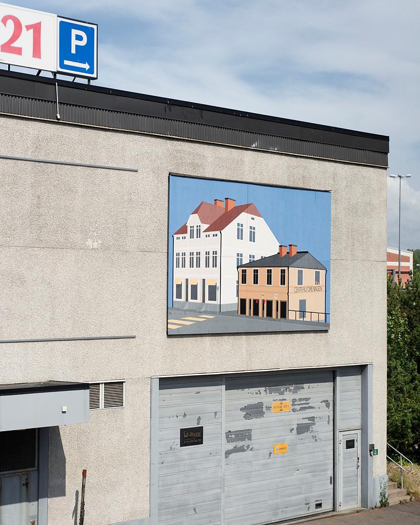 Downtown, 110 x 92 cm, 2015