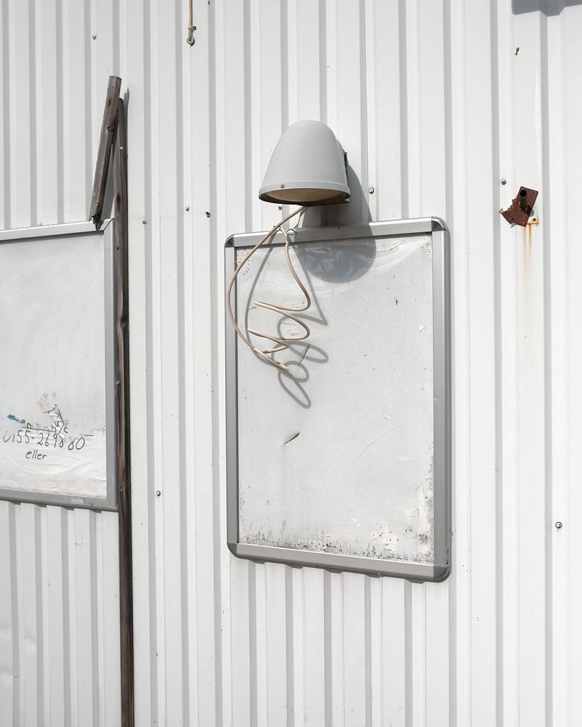 Tin-Facade, 110 x 92 cm, 2015