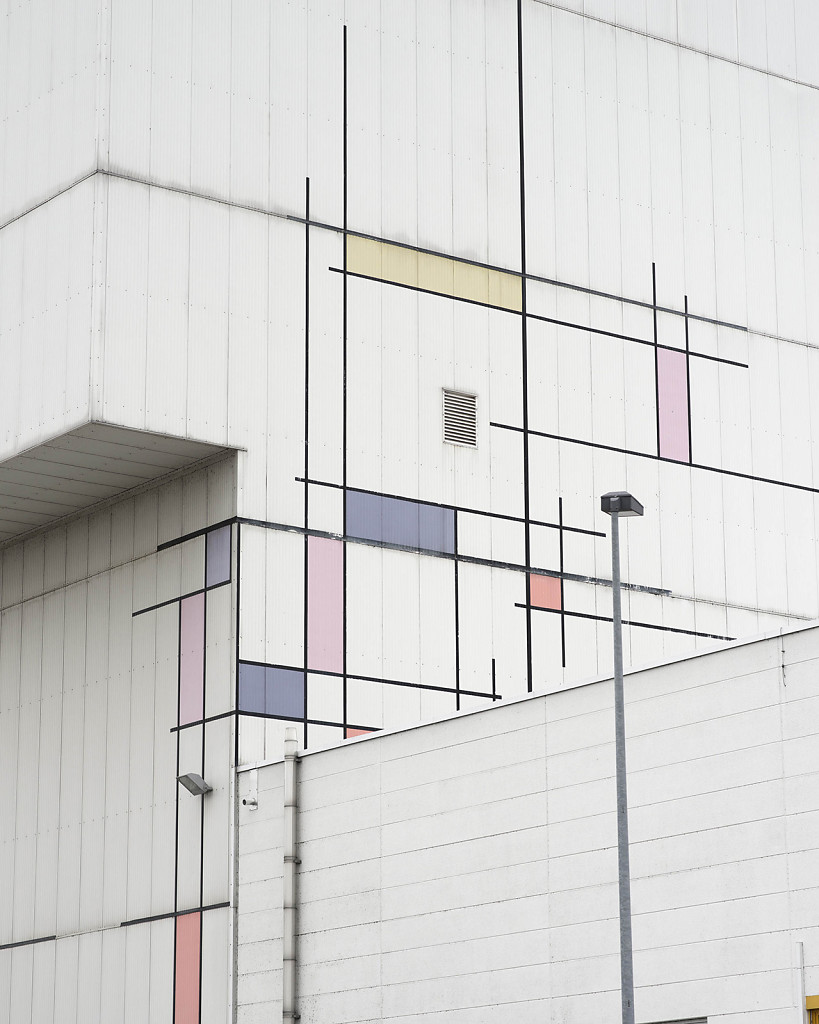 Untitled 2015 (Mondrian), 135x110cm