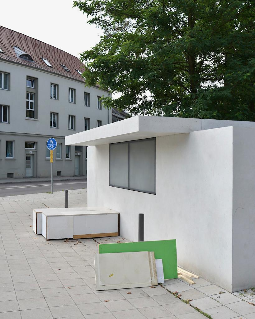 Mies Kiosk, Dessau 2015, 49x80cm