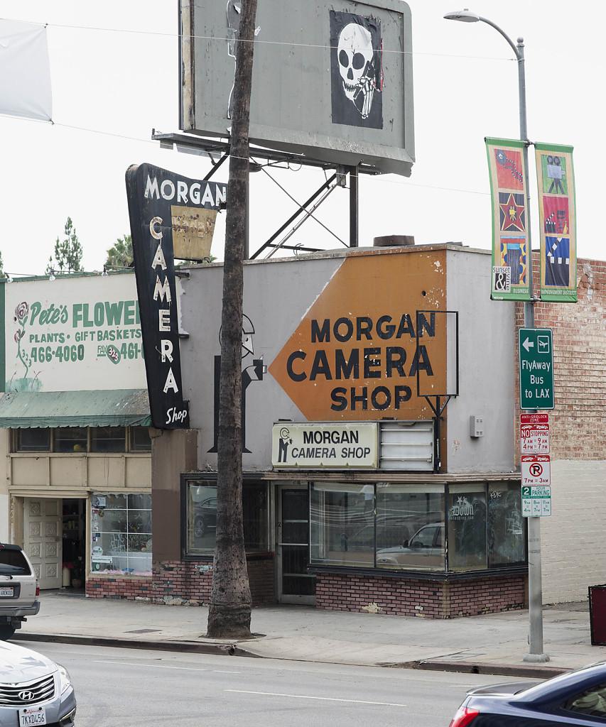 Schindler Morgan Camera Store, Los Angeles 2015, 180x150cm